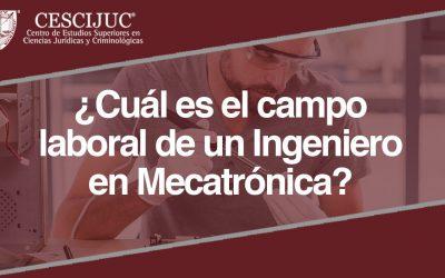 ¿Cuál es el campo laboral de un Ingeniero en Mecatrónica?